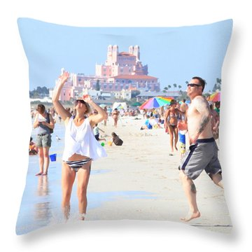 Lost In The Sun Throw Pillow