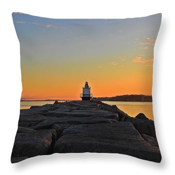 Lost In The Sunrise Throw Pillow