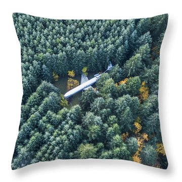Lost In The Wild Throw Pillow