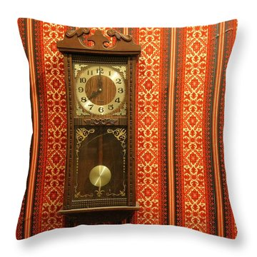 Throw Pillow featuring the photograph Lost In Time And Space by Stephen Mitchell