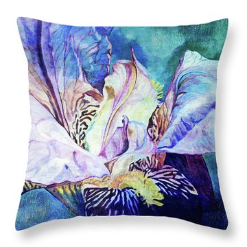 Lost Iris Passion 93 L_2 Throw Pillow