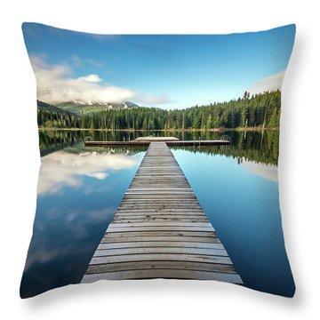 Lost Lake Dream Whistler Throw Pillow