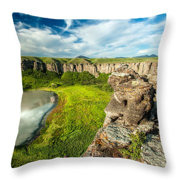 Lost Lake Throw Pillow