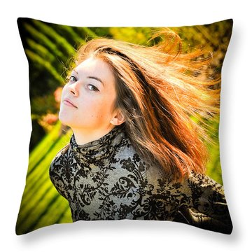 Lost Mermaid Throw Pillow by Loriental Photography