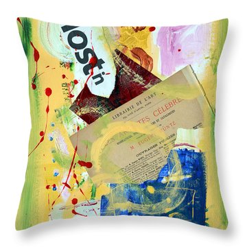Lost 'n Loving It Throw Pillow