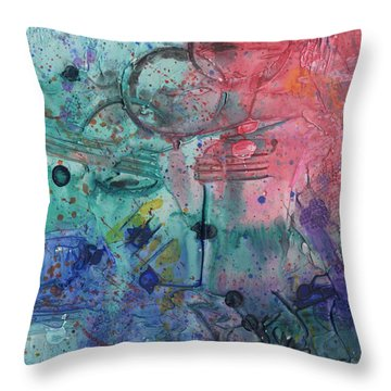 Lost Paradise Throw Pillow by Phil Strang
