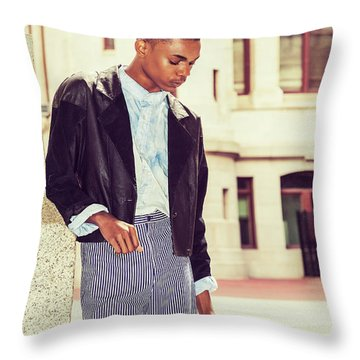 Lost Rose Throw Pillow