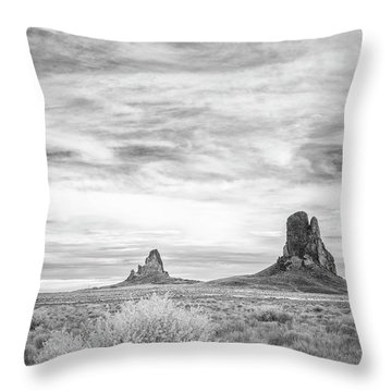 Lost Souls In The Desert Throw Pillow