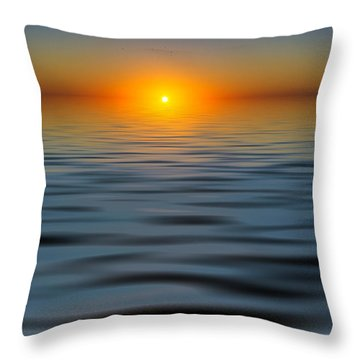 Lost Sun Throw Pillow
