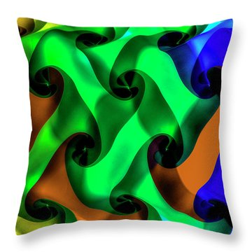 Lost Together Throw Pillow by Paul Wear