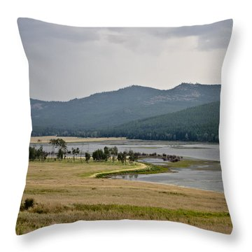 Lost Trail Wildlife Refuge 2 Throw Pillow