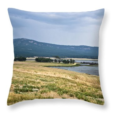 Lost Trail Wildlife Refuge 3 Throw Pillow