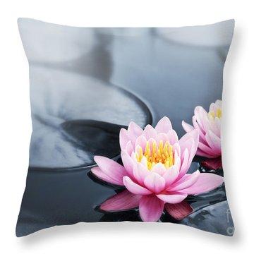 Botany Throw Pillows