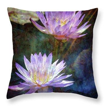Lotus Reflections 2980 Idp_2 Throw Pillow