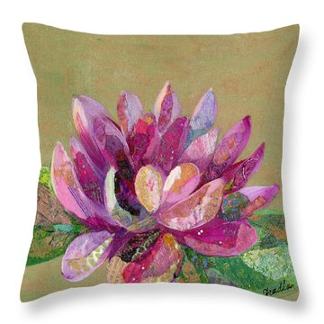 Lotus Series II - 4 Throw Pillow