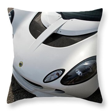 Throw Pillow featuring the photograph Lotus Smile by Joel Witmeyer