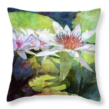 Lotus Trio 2923 Idp_2 Throw Pillow