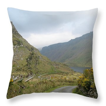 Lough Anascaul Throw Pillow