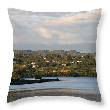 Lough Eske Throw Pillow