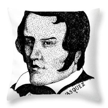 Louis Vasquez Throw Pillow
