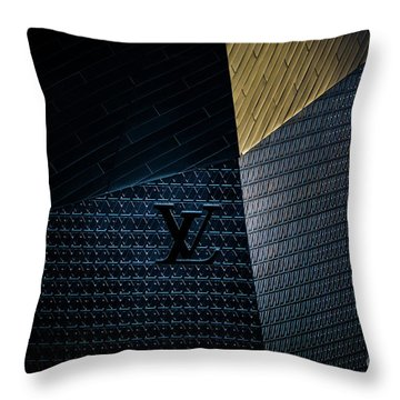Louis Vuitton At City Center Las Vegas Throw Pillow