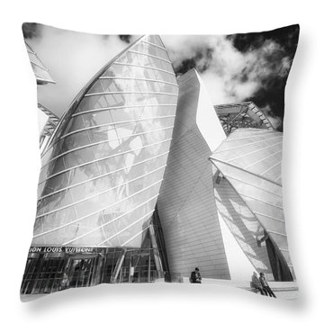 Louis Vuitton Paris II Throw Pillow