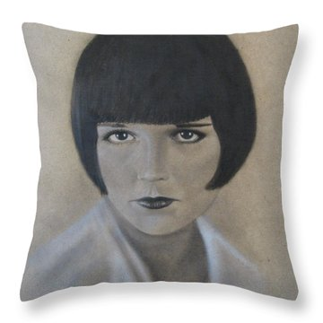 Louise Throw Pillow by Lynet McDonald