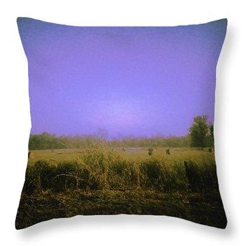 Louisiana Pastoria Throw Pillow