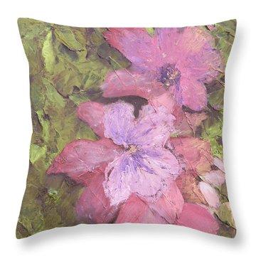 Louisiana Spring Throw Pillow