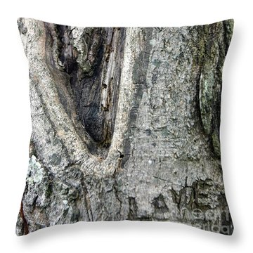 Love A Tree Throw Pillow