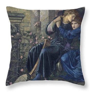 Love Among The Ruins Throw Pillow