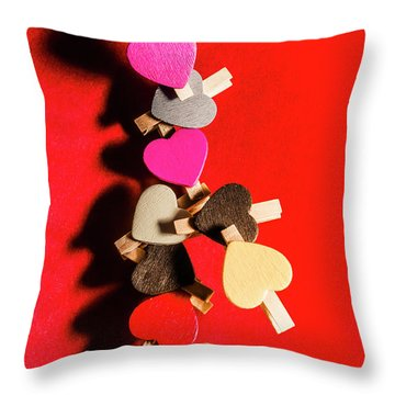 Love And Connection Throw Pillow