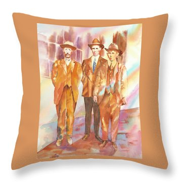 Love And Honor Among The Nation Men, 1919 Throw Pillow