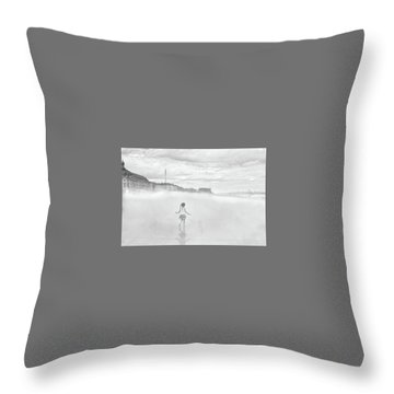 Love And Imagination Throw Pillow