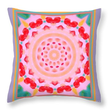 Love And Kisses Throw Pillow