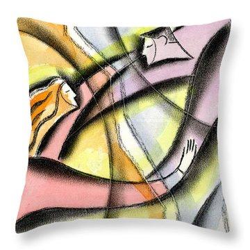 Idealism Throw Pillows