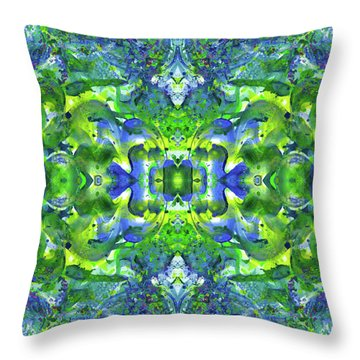 Love And Protect Our Living Gaia #1518 Throw Pillow