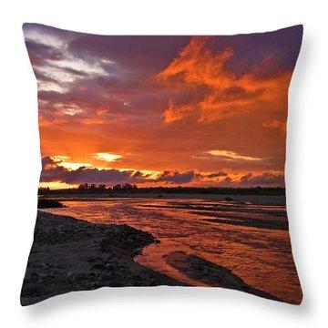 Love At First Light Throw Pillow