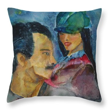 Love At First Sight Throw Pillow by Shelley Jones