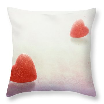 Throw Pillow featuring the photograph Love At First Sight by Tom Mc Nemar