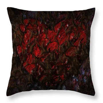Love Buried Deep Throw Pillow