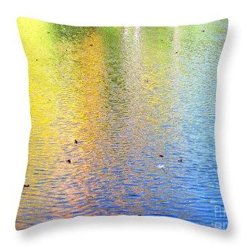 Love Calls Unceasingly Throw Pillow