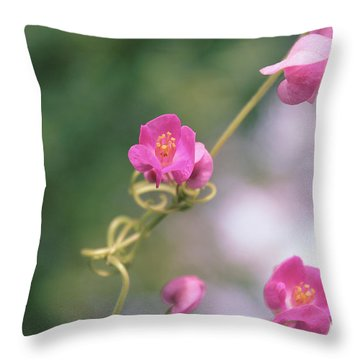Throw Pillow featuring the photograph Love Chain by Megan Dirsa-DuBois