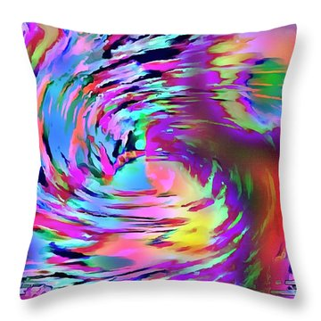 Love Comes Around Throw Pillow