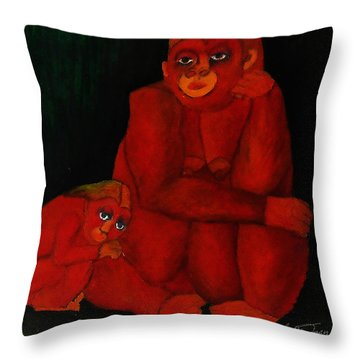 Love Deficit Throw Pillow