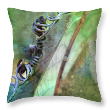 Throw Pillow featuring the photograph Love Each Other by Kate Word