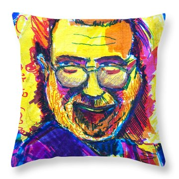 Love For Jerry Throw Pillow
