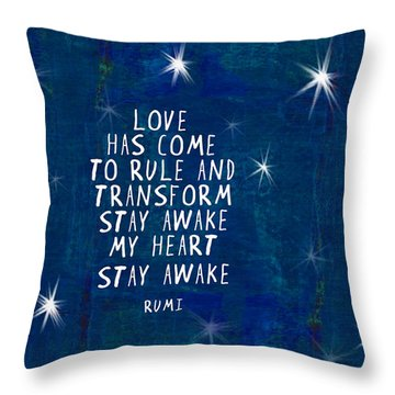 Love Has Come Throw Pillow