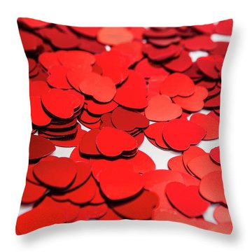 Love In Perspective Throw Pillow