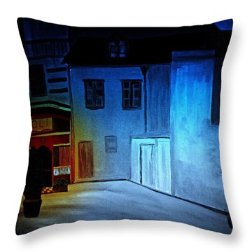 Love In San Fele Throw Pillow